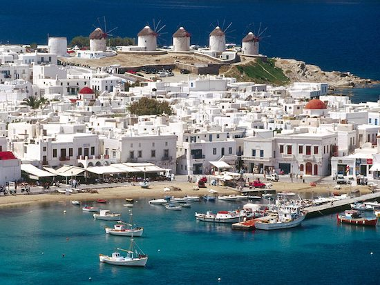 traveling to greece mykonos