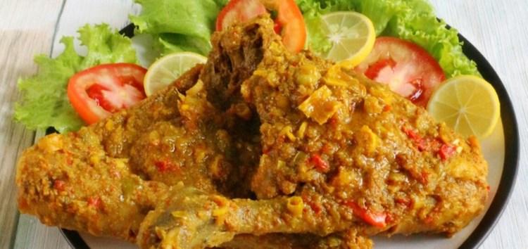 balinese cuisine ayam betutu catering