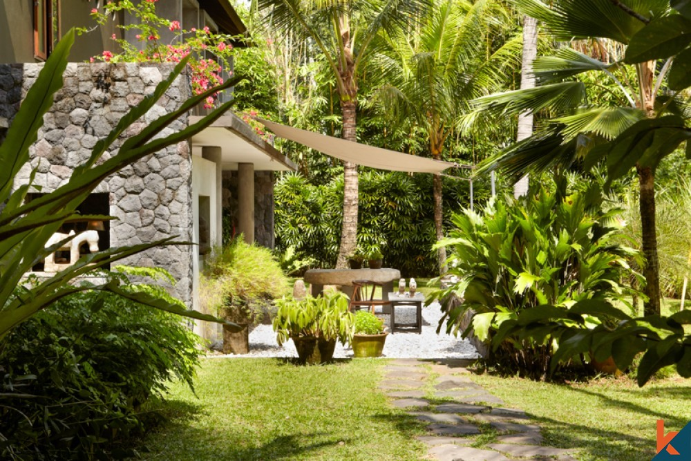Living Close to Nature in This Property for Sale in Ubud Bali